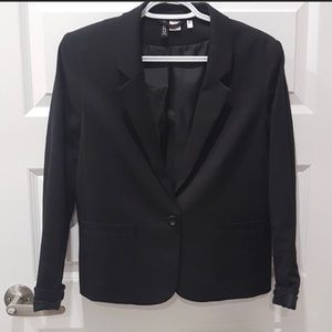 H&M Black blazer fitted